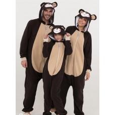 Пижама на деток комбинезон теплый мишка кигуруми 02.1