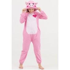 Пижама Кигуруми для всей семьи Поросенок 015