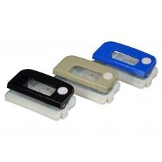 Діркопробивач 8см 12арк. з лінійкою фіксатор метал 4-302 ТМ4OFFICE