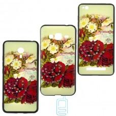 Чехол-накладка Flower Case Apple iPhone 7 Mc. Gregor Rose