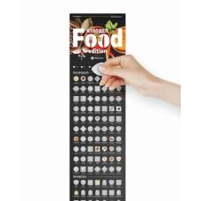 Скретч постер 100 дел Food edition